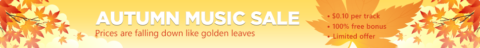 Autumn music sale!