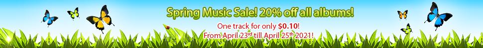 Spring Music Sale